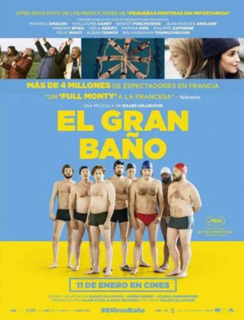El Gran Baño (dvd) * Mathieu Amalric, Guillaume Canet - Gilles Lellouche