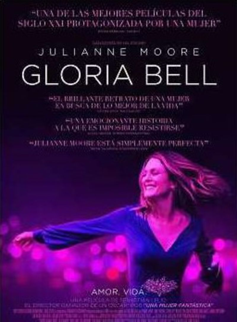 GLORIA BELL (DVD) * JULIANNE MOORE, JOHN TURTURRO