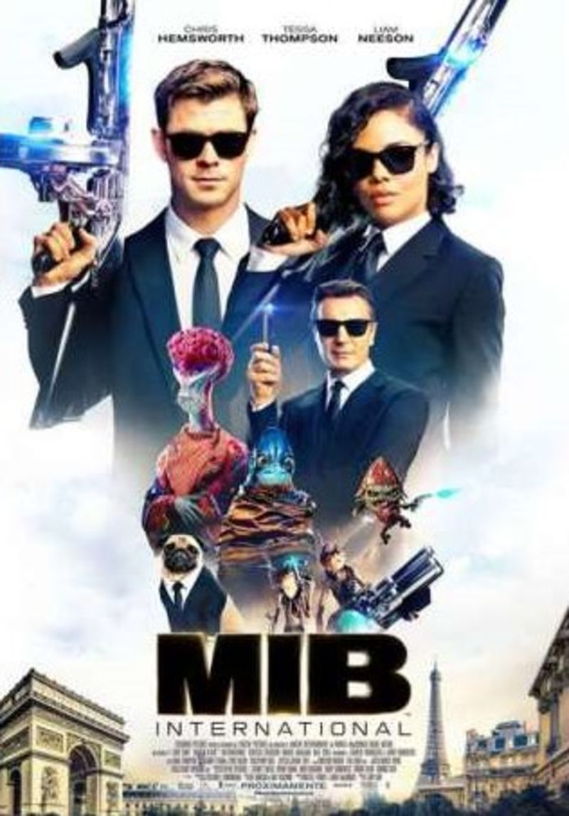 MEN IN BLACK INTERNATIONAL (DVD) * CHRIS HEMSWORTH, TESSA THOMPSON