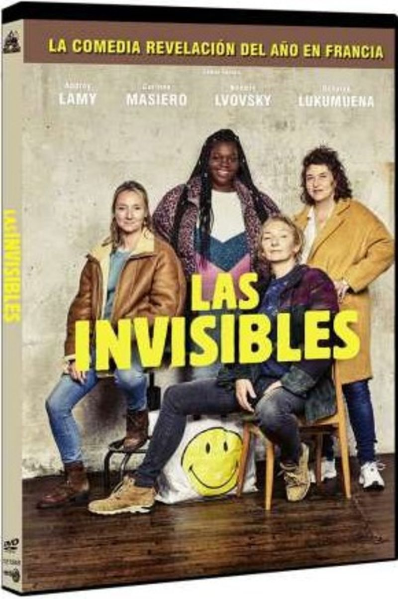LAS INVISIBLES (DVD) * PATRICIA MOUCHON, KHOUKHA BOUKH. ..