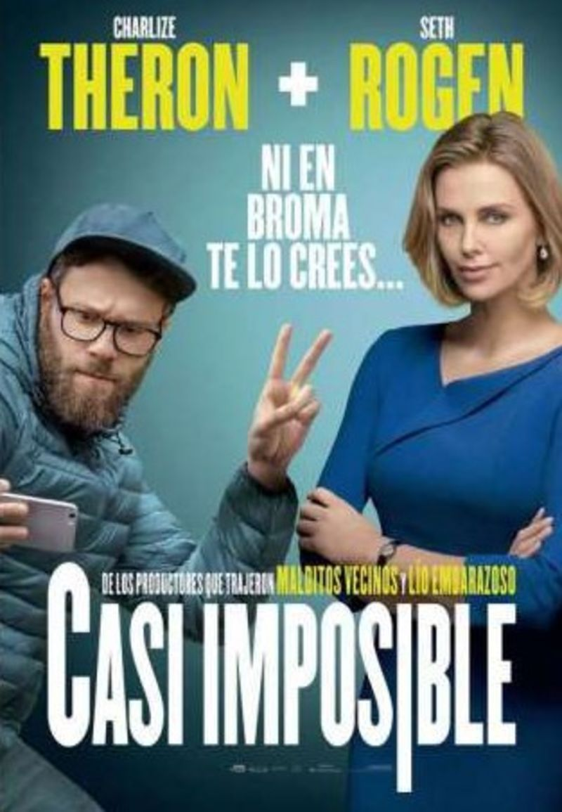 CASI IMPOSIBLE (DVD) * SETH ROGEN, CHARLIZE THERON