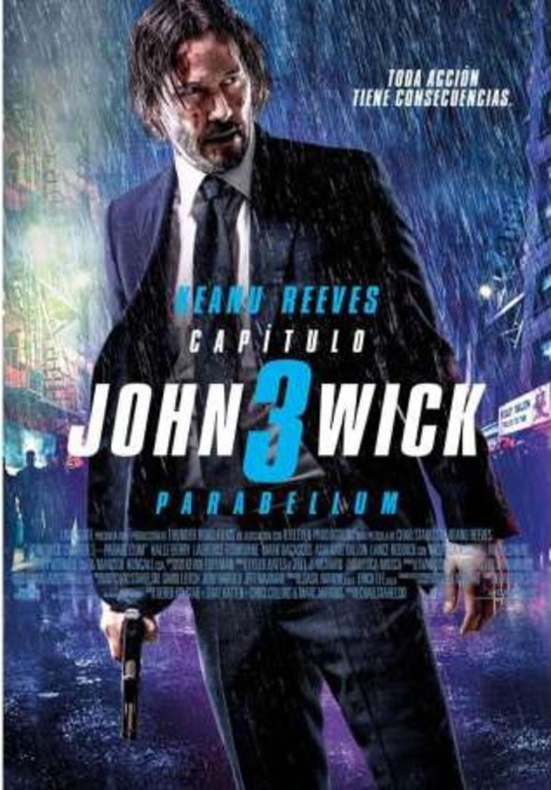JOHN WICK: CAPITULO 3, PARABELLUM (DVD) * KEANU REEVES, HALLE BARRY