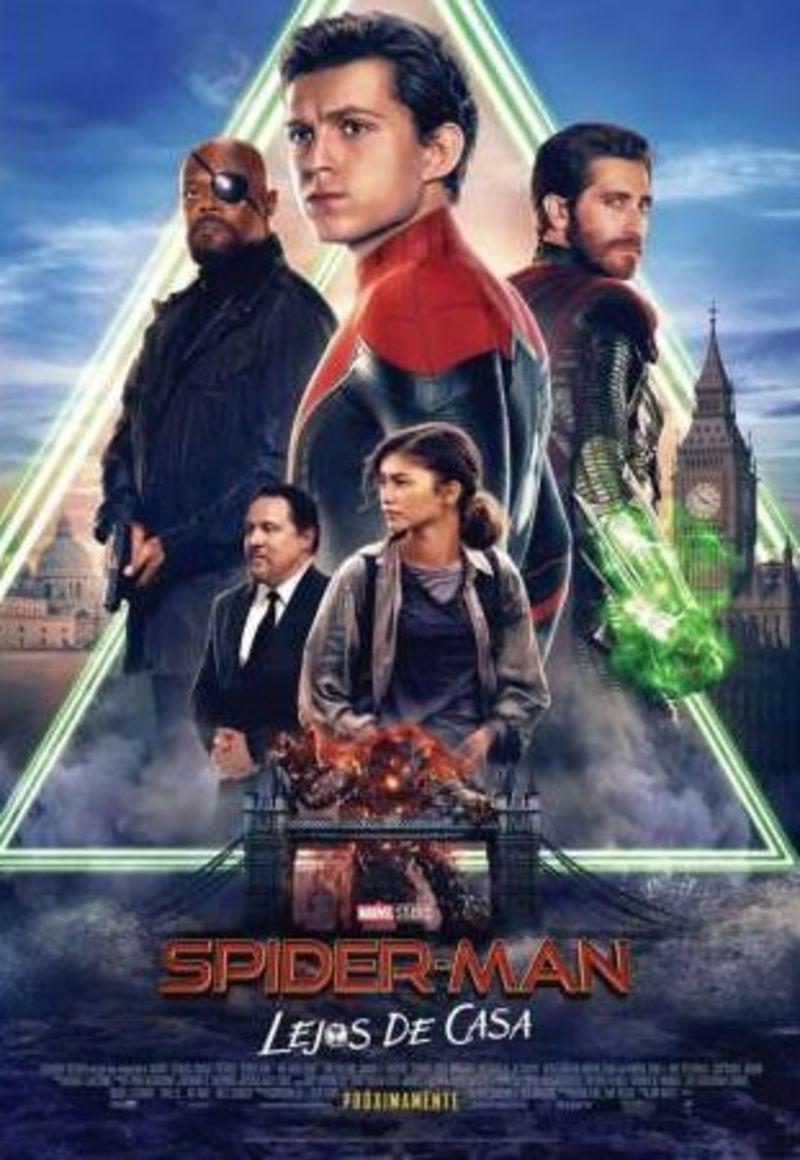 SPIDER-MAN: LEJOS DE CASA (DVD) * TOM HOLLAND, SAMUEL L. JACKSON