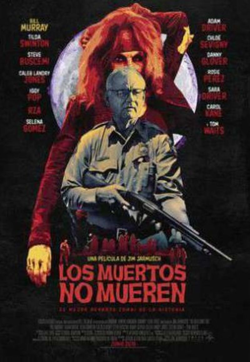 LOS MUERTOS NO MUEREN (DVD) * BILL MURRAY, ADAM DRIVER