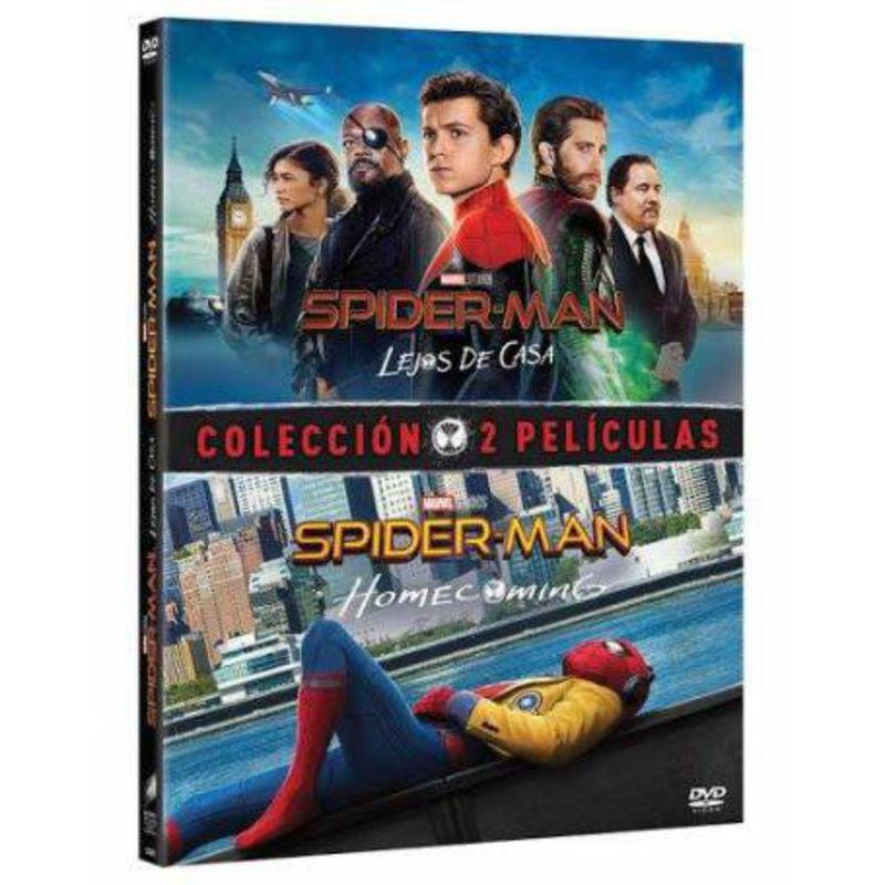 SPIDER-MAN: HOMECOMING + LEJOS DE CASA (DVD)