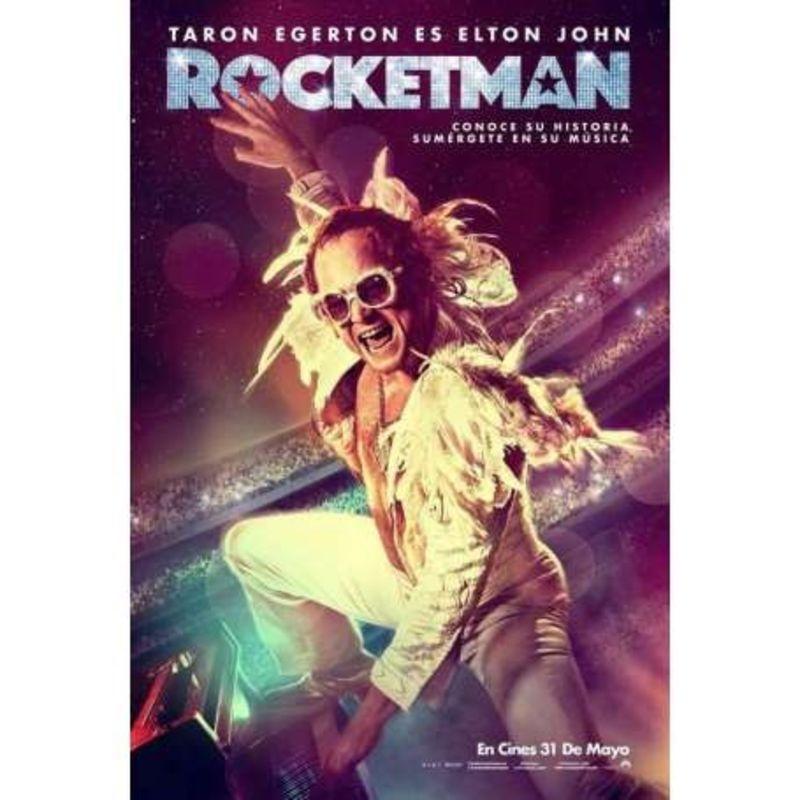 ROCKETMAN (DVD) * TARON EGERTON