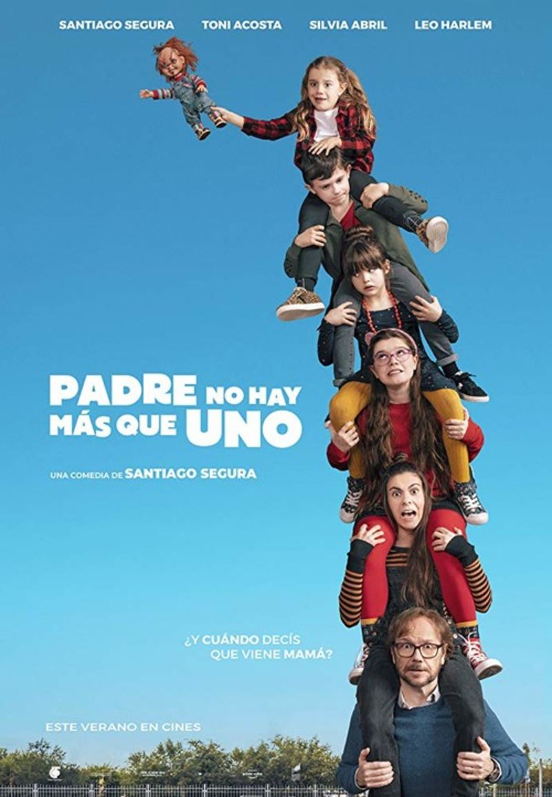 PADRE NO HAY MAS QUE UNO (DVD) / TONI ACOSTA
