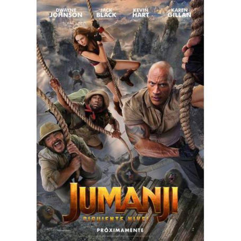 JUMANJI, EL SIGUIENTE NIVEL (DVD) * DWAYNE JOHNSON
