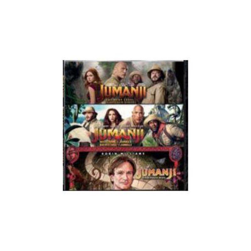 JUMANJI 1-3 (3 DVD) * DANNY DEVITO