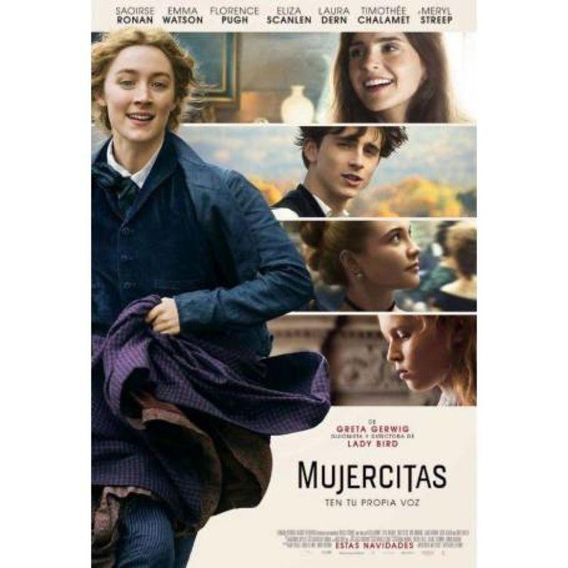 MUJERCITAS (2019) (DVD) * EMMA WATSON