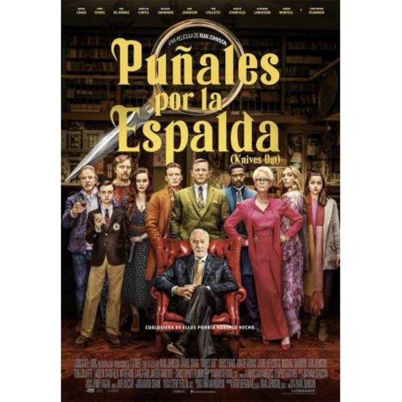 PUÑALES POR LA ESPALDA (DVD) * DANIEL CRAIG