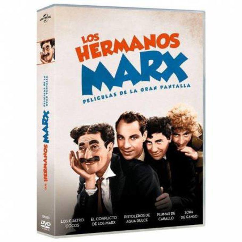 LOS HERMANOS MARX (5 PELICULAS) (DVD)