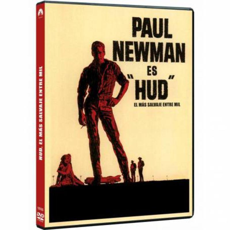 HUD, EL MAS SALVAJE ENTRE MIL (DVD) * PAUL NEWMAN