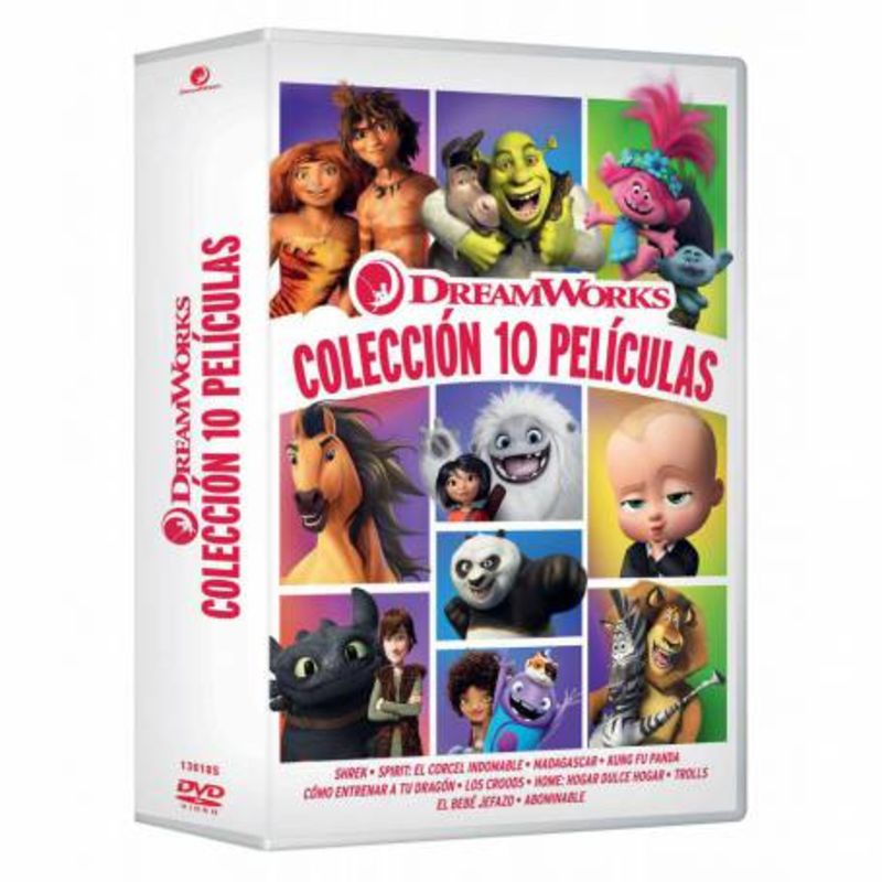DREAMWORKS, COLECCION 10 PELICULAS (10 DVD)