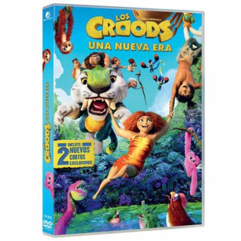 LOS CROODS 2, UNA NUEVA ERA (DVD)
