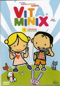 Vitaminix 1:  Vitaminas, Minerales (dvd) -