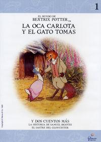 BEATRIX POTTER 1: LA OCA CARLOTA / EL GATO CON BOTAS . . (DVD)