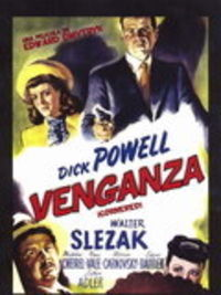 VENGANZA (CORNERED) (DVD) * DICK POWELL / WALTER SLEZAK