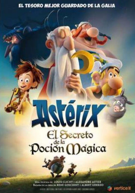 ASTERIX, EL SECRETO DE LA POCION MAGICA (DVD)