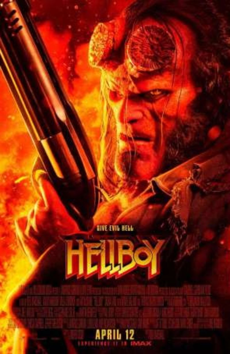 HELLBOY (DVD) * DAVID HARBOUR, MILLA JOVOVICHI