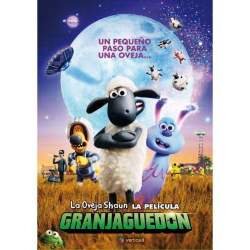 LA OVEJA SHAUN, LA PELICULA - GRANJAGUEDON (DVD)