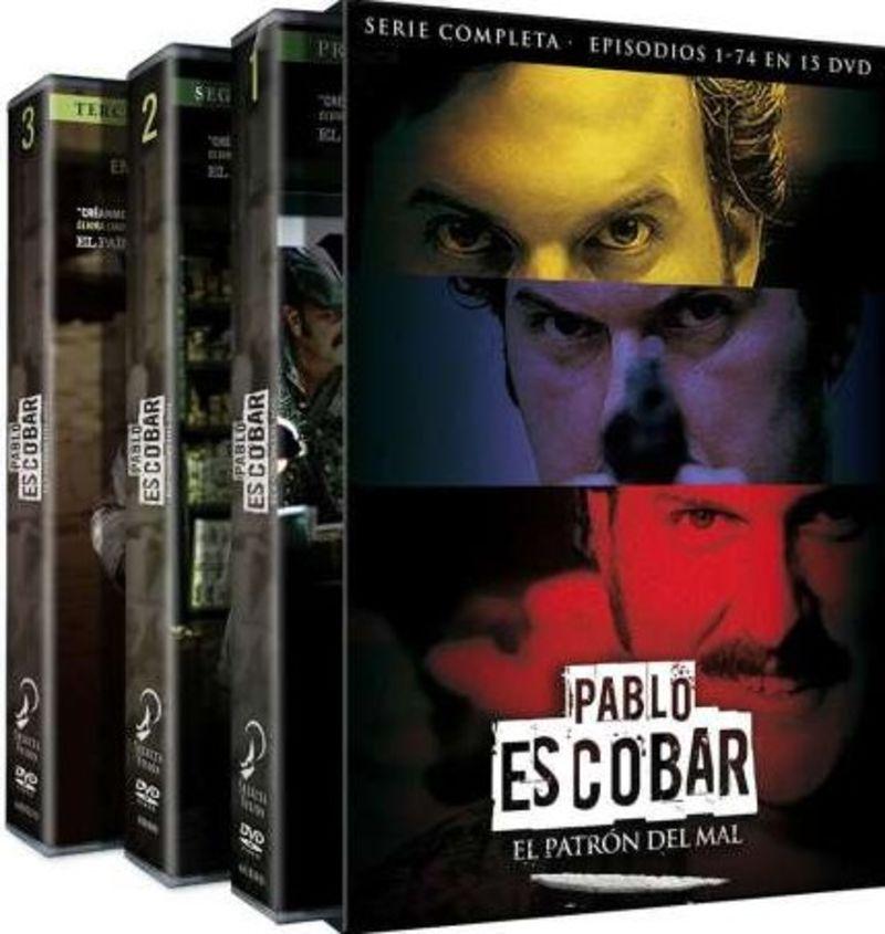 PABLO ESCOBAR: EL PATRON DEL MAL, SERIE COMPLETA (DVD) * ANDRES PARR