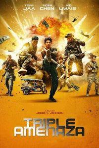 TRIPLE THREAT (DVD) * SCOTT ADKINS, MICHAEL JAI. .