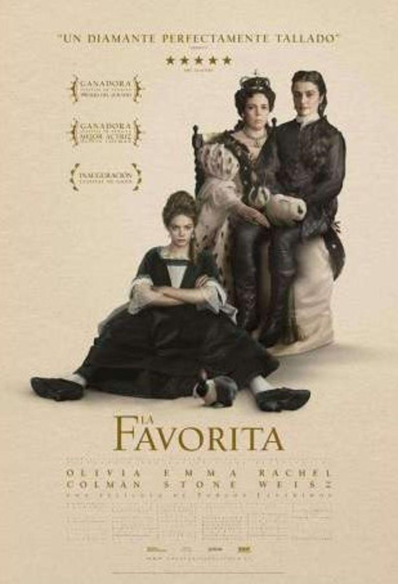 LA FAVORITA (DVD) * OLIVIA COLMAN, EMMA STONE