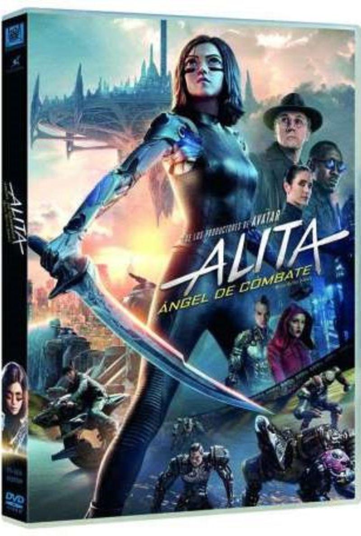 ALITA: ANGEL DE COMBATE (DVD) * ROSA SALAZAR, JENNIFER CONNELL