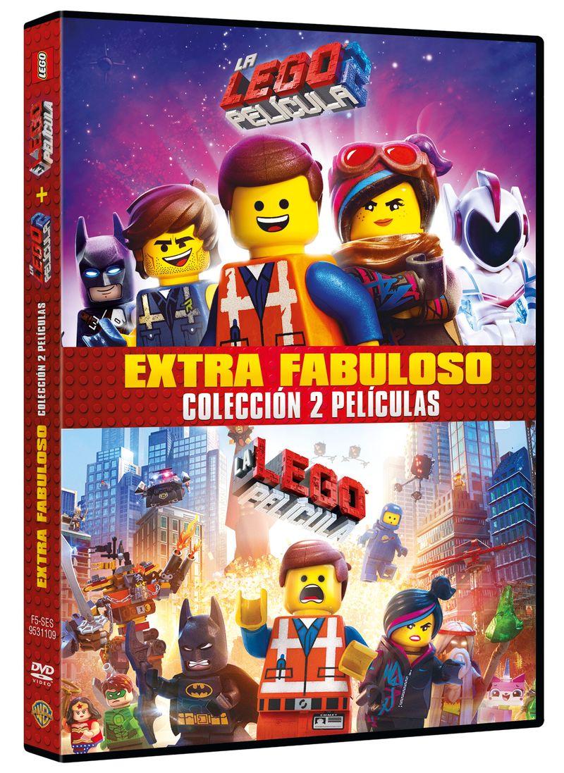 LA LEGO PELICULA + LA LEGO PELICULA 2 (DVD)