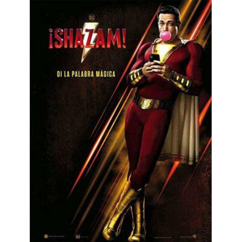 ¡SHAZAM! (DVD) * ZACHARY LEVI, MARK STRONG
