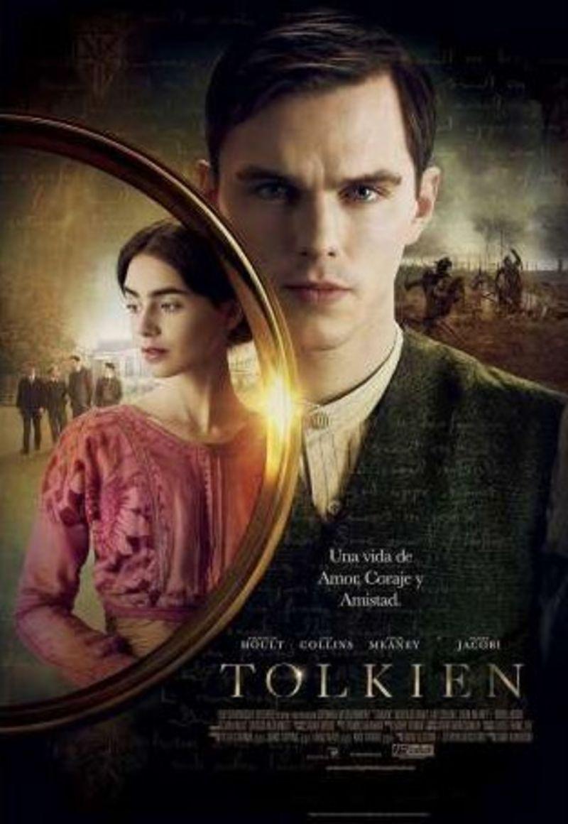TOLKIEN (DVD) * NICHOLAS HOULT, LILY COLLINS