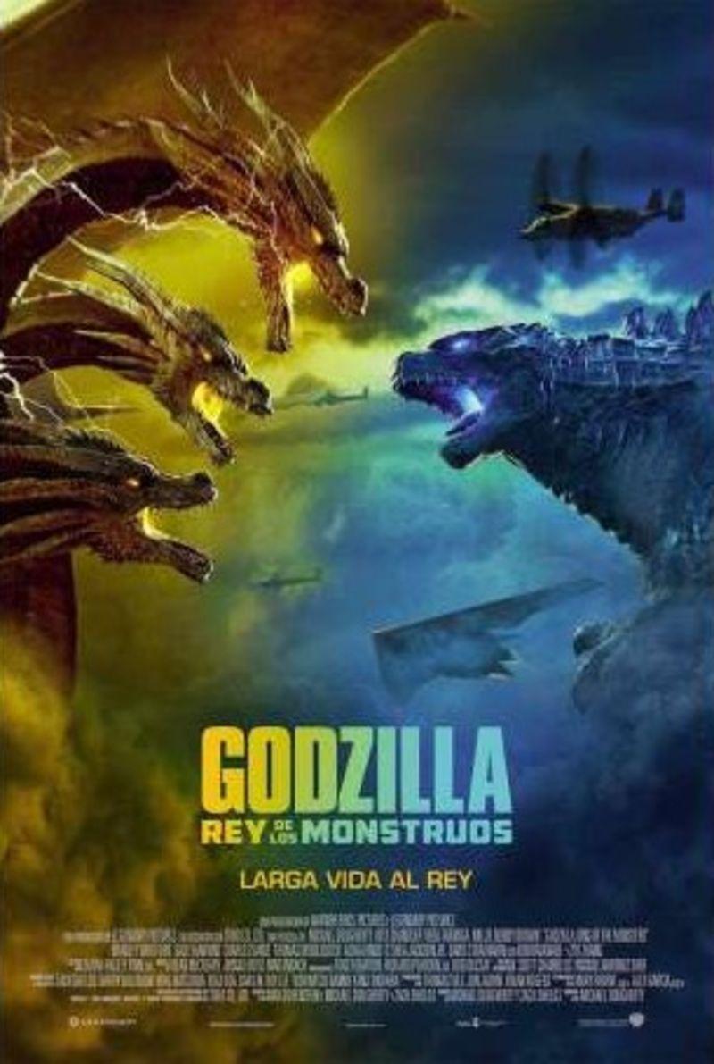 GODZILLA: REY DE LOS MONSTRUOS (DVD) * KYLE CHANDLER, VERA FARMIGA
