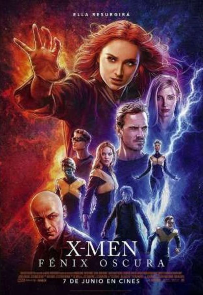 X-MEN: FENIX OSCURA (DVD) * JAMES MCAVOY, MICHEAL FASSBEND