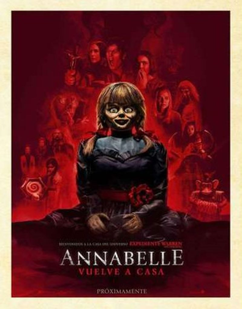 Annabelle Vuelve A Casa (dvd) * Vera Farmiga, Patrick Wilson - Gary Dauberman