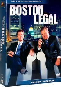 BOSTON LEGAL (SEGUNDA TEMPORADA 7 DVD)