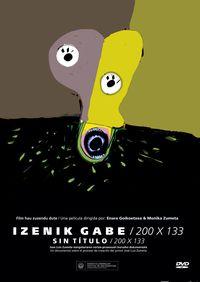 (DVD) IZENIK GABE / 200 X 133