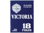 BARAJA POKER INGLES N.18 55 CARTAS CARTULINA R: 21642