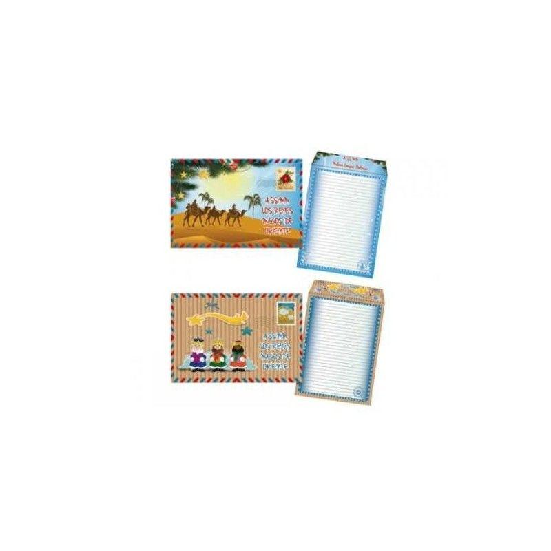 PAQ / 50 SOBRE CARTAS DE REYES R: 37201