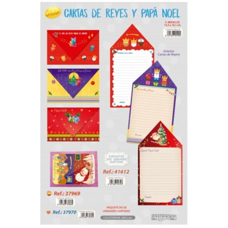 PAQ / 50 CARTAS A LOS REYES MAGOS ORO R: 37969