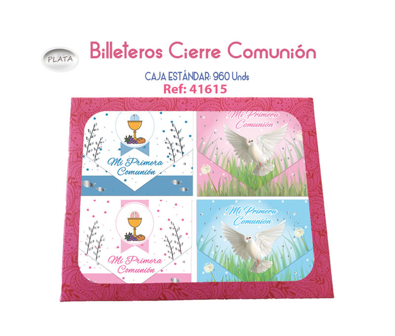 C / 96 BILLETERO COMUNION CIERRE
