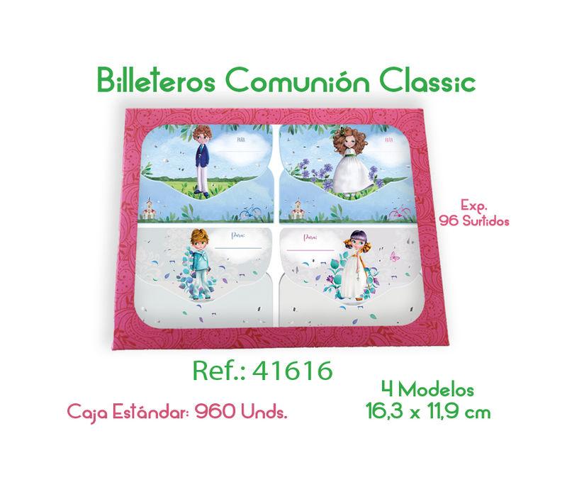 C / 96 BILLETERO COMUNION CLASSIC