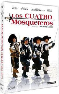 LOS CUATRO MOSQUETEROS (DVD) * RICHARD CHAMBERLAIN