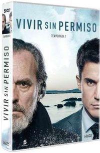 Vivir Sin Permiso, Temporada 1 (5 Dvd) * Alex Gonzalez, Jose Coronado -