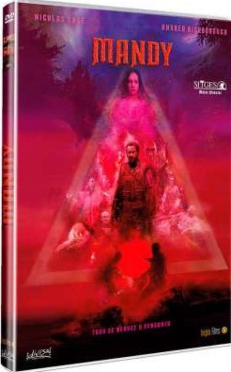 MANDY (DVD) * NICOLAS CAGE, ANDREA RISEBOROUGH