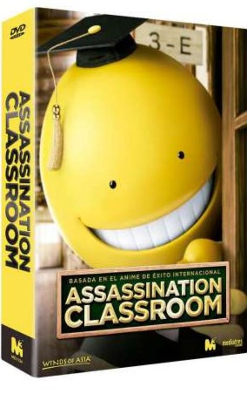 ASSASSINATION CLASSROOM 1 & 2 (2 DVD) * KIPPEI SHIINA, KANNA HASHIMOT