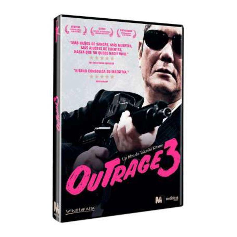 Outrage 3 (dvd) , Toshiyuki Nishida - Takeshi Kitano