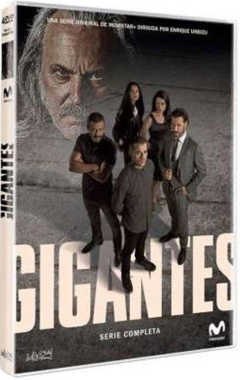 GIGANTES, SERIE COMPLETA (4 DVD) * JOSE CORONADO, ISAK FERRIZ
