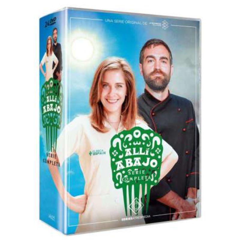 ALLI ABAJO, SERIE COMPLETA (24 DVD) * MARIA LEON, JON PLAZAOLA