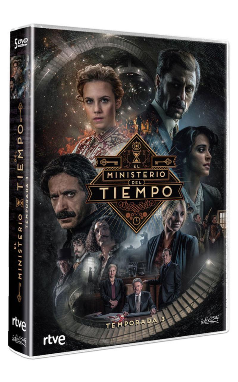 EL MINISTERIO DEL TIEMPO, TEMPORADA 3 (5 DVD)